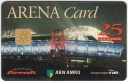 NETHERLANDS B-466  - Arena Card, Sport, Soccer - Used - Andere Sammlungen