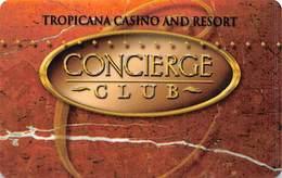 Tropicana Casino Atlantic City NJ Slot Card - Concierge Club BLANK - Casinokarten