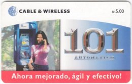 PANAMA A-048 Chip Cable&Wireless - Communication, Phone Booth - Used - Panama