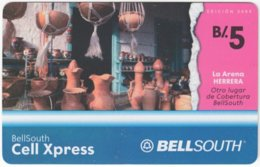 PANAMA A-061 Prepaid BellSouth - Culture, Traditional Handcraft - Used - Panama