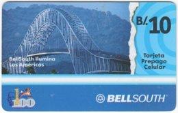 PANAMA A-062 Prepaid BellSouth - Traffic, Bridge - Used - Panama