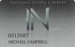 Tropicana Casino - Atlantic City NJ - Slot Card - Casinokarten