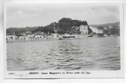 AK 0288  Arona ( Lago Maggiore ) - La Rocca Vista Dal Lago Um 1950 - Novara