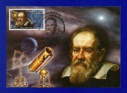 Moldovei 2009  Mi.Nr. 651 , EUROPA - CEPT  Astronomie Galileo Galilei - Maximum Karte - Erstausgabe Posta Moldovel - 2009