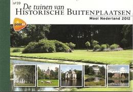 NEDERLAND, 2012, PRESTIGE BOOKLET, PR 39, Beautiful Nederland 2012, Historic Country Houses - Postzegelboekjes En Roltandingzegels