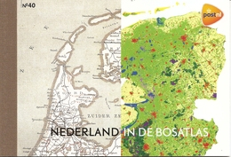 NEDERLAND, 2012, PRESTIGE BOOKLET, PR 40, 'Bosatlas'  Wellknown Dutch Atlas - Postzegelboekjes En Roltandingzegels