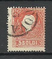 Austria Österreich Lombardei & Venetien 1858 Michel 9 O - 1850-1918 Imperium