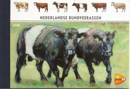 NEDERLAND, 2012, PRESTIGE BOOKLET, PR 41, Cattle Breeds - Postzegelboekjes En Roltandingzegels