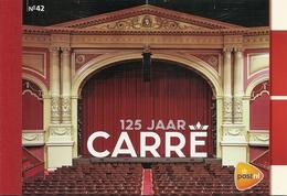 NEDERLAND, 2012, PRESTIGE BOOKLET, PR 42, Theatre Amsterdam: Carré - Postzegelboekjes En Roltandingzegels