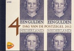 NEDERLAND, 2012, PRESTIGE BOOKLET, PR 43, Stamp Day 2012: Definitives 1949 - Postzegelboekjes En Roltandingzegels