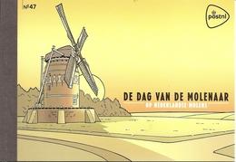 NEDERLAND, 2013, PRESTIGE BOOKLET, PR 47, Mills In The Netherlands - Postzegelboekjes En Roltandingzegels