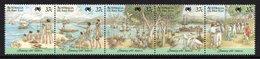 AUSTRALIA 1988 Bicentenary Of Australian Settlement/Arrival Of The First Fleet: Strip Of 5 Stamps UM/MNH - Mint Stamps