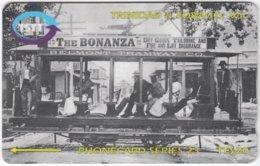 TRINIDAD & TOBAGO A-085 Magnetic TSTT - Traffic, Historic Tramway - 249CTTB - Used - Trinidad En Tobago
