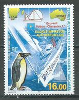T.A.A.F. Poste Aérienne YT N°142 Escale Imprévue Aux Kerguelen Neuf ** - Poste Aérienne