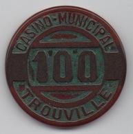 Casino Municipal Trouville 100 Anciens Francs - Casino