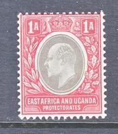 EAST AFRICA & UGANDA  PROTECTORATES  18   *  Wmk 3 Multi  CA - Kenya, Uganda & Tanganyika
