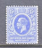 EAST AFRICA & UGANDA  PROTECTORATES  45   *  Wmk 3 Multi  CA - Kenya, Uganda & Tanganyika
