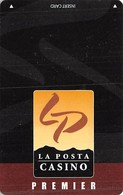 La Posta Casino Boulevard CA - BLANK Slot Card - Casino Cards