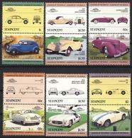 SAINT VINCENT ST. VINCENT CAR AUTO 6 STAMPS SET MNH - Auto's