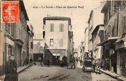 83 LA SEYNE PLACE DU QUARTIER NEUF ANIMEE CLICHE UNIQUE - La Seyne-sur-Mer