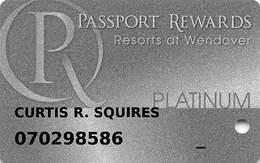 Wendover Resorts - Rainbow, Peppermill & Montego Bay Casinos - Slot Card - Casinokarten