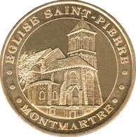 75018 PARIS ÉGLISE SAINT PIERRE DE MONTMARTRE MÉDAILLE MONNAIE DE PARIS 2019 JETON MEDALS TOKENS COINS - 2019