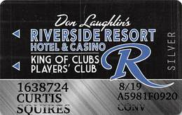 Riverside Casino - Laughlin NV -Slot Card With P841335 Over Mag Stripe - Casino Cards