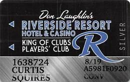 Riverside Casino - Laughlin NV -Slot Card With P841335 Over Mag Stripe - Casinokarten