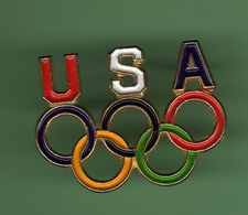 JO USA *** LES ANNEAUX *** 1035 - Jeux Olympiques