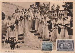 (Tirana) Mariage Du Roi Et De La Reine D'Albanie. - Albanië