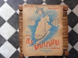 LES BOOTLEGGERS  La Femme Tatouée  *Nino  OPERETTE  Théâtre Pigalle  @GRAND FORMAT - Scores & Partitions