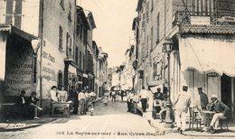 83 LA SEYNE SUR MER RUE CYRUS HUGUES SUPERBE ANIMATION - La Seyne-sur-Mer