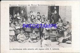 116842 CHINA APOSTOLIC VICARIATE OF THE HANAN COSTUMES GIRLS OF ST. CHILD DISTRIBUTION POSTAL POSTCARD - Japon