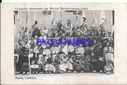 116843 CHINA APOSTOLIC VICARIATE OF THE HOANAN COSTUMES BAND CATHOLIC POSTAL POSTCARD - Chine