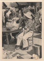 Photographie Argentique Après Guerre - Bruxelles - Vieux Marché - Place Du Jeu De Balle - Marolles  - Vundelinckx - Lieux