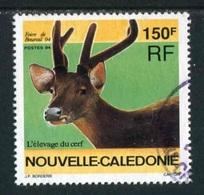 """TIMBRE Oblit. De 1994 """"150 F - Foire De Bourail 94 - L'élevage Du Cerf"""" - Neukaledonien"""