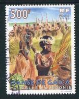 "TIMBRE Oblit. De 1996 ""500 F -  Danse De Gaïca"" - Neukaledonien"