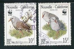 """TIMBRE Oblit. De 1998 """"10 & 15 F -  Cagou"""" - Neukaledonien"""