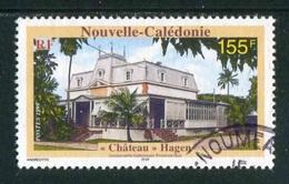 """TIMBRE Oblit. De 1999 """"155 F -  """"Château"""" Hagen - Usati"""