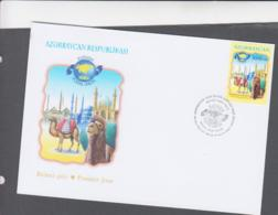 AZERBAIJAN - 2004 - SILK ROUTE  ILLUSTRATED FDC - Azerbaïjan