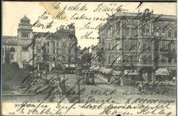 60245580 Bromberg Pommern Westpreussen Bruecke Theaterplatz X 1904 / - Pologne