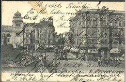 60245580 Bromberg Pommern Westpreussen Bruecke Theaterplatz X 1904 / - Polen