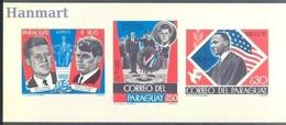 Paraguay 1968 Mi Bl 117 MNH ( ZS3 PRGbl117 ) - Beroemde Personen