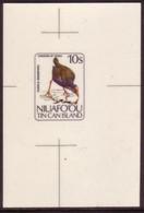 Tonga Niuafoou 1983 Cromalin  Proof - Bird - Swamp Hen - 5 Exist - Sin Clasificación