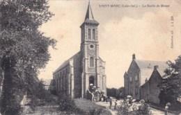 44 - Loire Atlantique -  SAINT MARC Sur MER ( Saint Nazaire ) La Sortie De Messe - Saint Nazaire