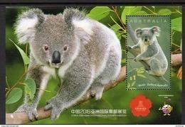 AUSTRALIA, 2016 KOALA MINISHEET FOR THE CHINA EXHIBITION MNH - 2010-... Elizabeth II