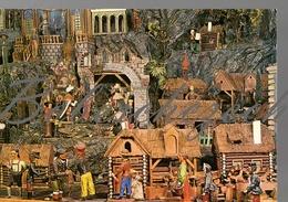 9-136 CZECHOSLOVAKIA 1977 Museum - Nativities From Jindrichuv Hradec Nativity Scene Manger Scene Crib  Crèche Belenismo - Cristianesimo