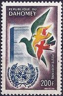 Dahomey 1961 - Mi 189 - YT Pa 20 ( 1st Anniversary UN Membership ) MH* - Bénin – Dahomey (1960-...)