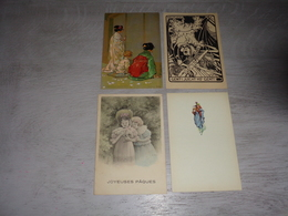 Beau Lot De 20 Cartes Postales De Fantaisie    Mooi Lot 20 Postkaarten Van Fantasie   -  20 Scans - Cartes Postales