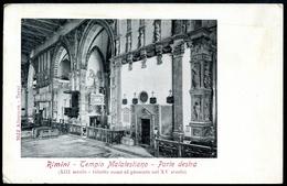 Rimini, Um 1910, Tempio Malatestiano - Parte Destra, Alterocca, Terni - Rimini